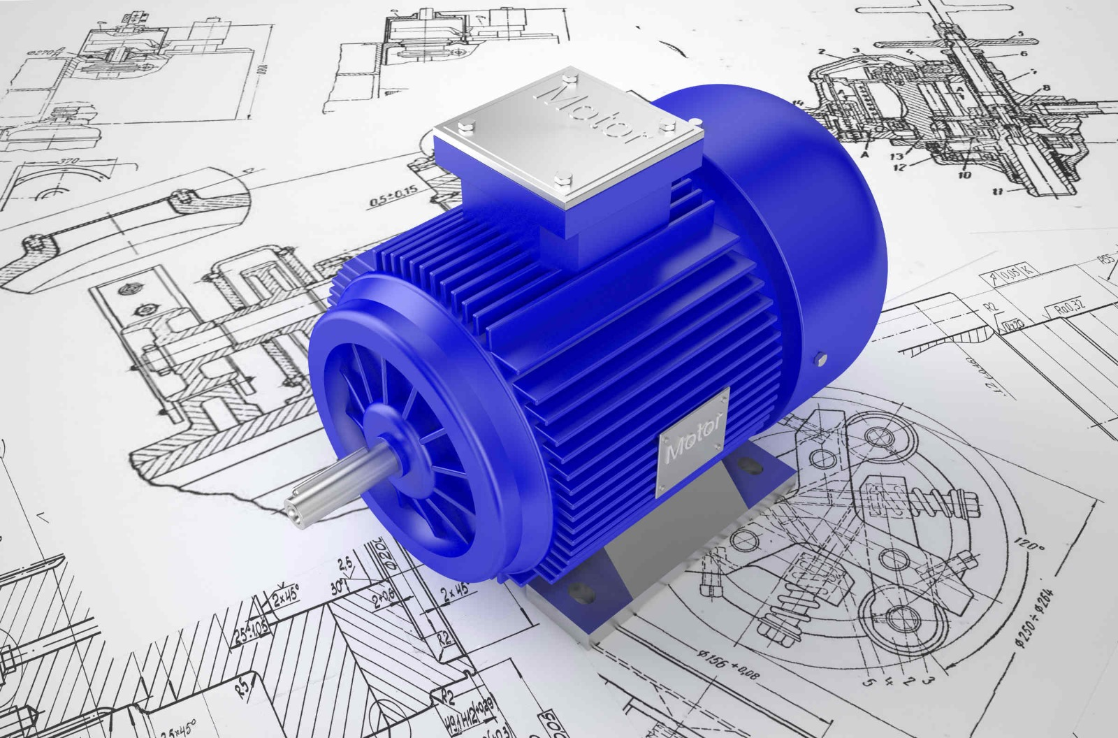 over 7 percent out of the world's 300 million industrial electric motors simply fail before time